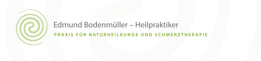 Edmund Bodenmüller Heilpraktiker Praxis für Naturheilkunde und Schmerztherapie Logo